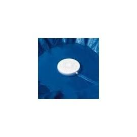 Bâche d'hivernage piscine hors sol Ovale - résistance 80 g/m²