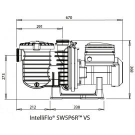 Pompe de filtration Intelliflo Starite SW 5P6R VSD