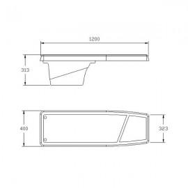 Plongeoir flexible 1200 DYNAMIC