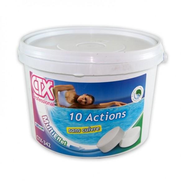 10 ACTIONS + sans cuivre CTX 342