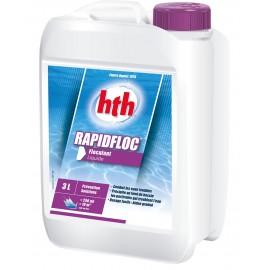 HTH Rapidfloc floculant liquide piscine 3 litres