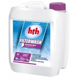 HTH Filterwash liquide nettoyant filtres à sable piscine 3 litres