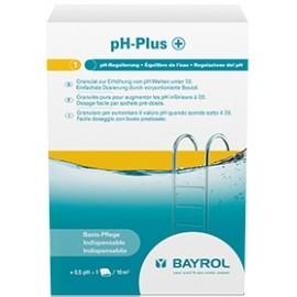 Entretien piscine BAYROL pH Plus boîte carton de 3 sachets