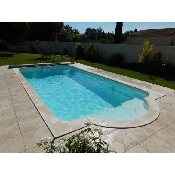 Coque polyester piscine R730 Bloc filtrant