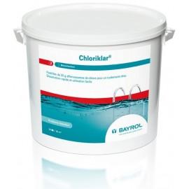Traitement de l eau Bayrol Chloriklar chloration choc