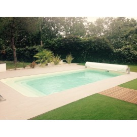 Coque polyester R700 Bloc filtrant piscine