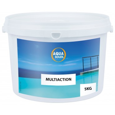 Chlore multi-actions Aquasoleil - Galets 250 g.