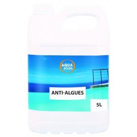 Algicide Anti-algues peu moussant 5l