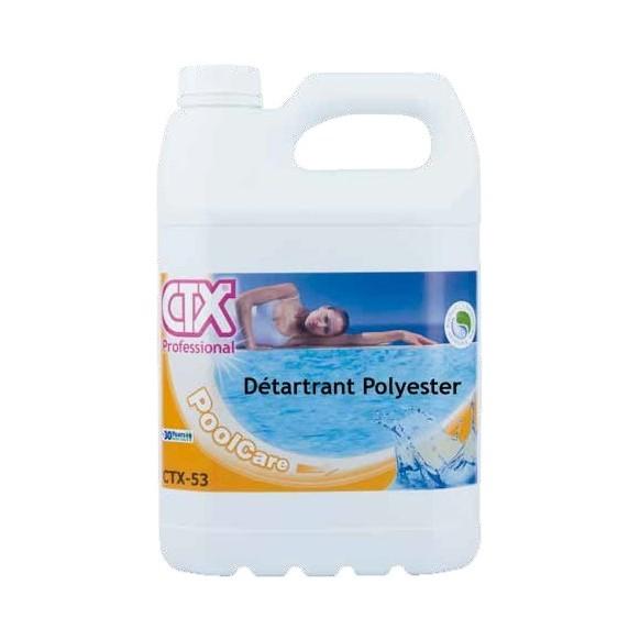 Nettoyage piscine détartrant polyester anti-calcaire CTX 53