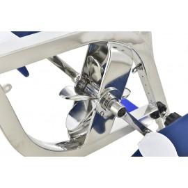 Vélo piscine athlétique Waterflex INOBIKE 6 Aquabiking zoom pales