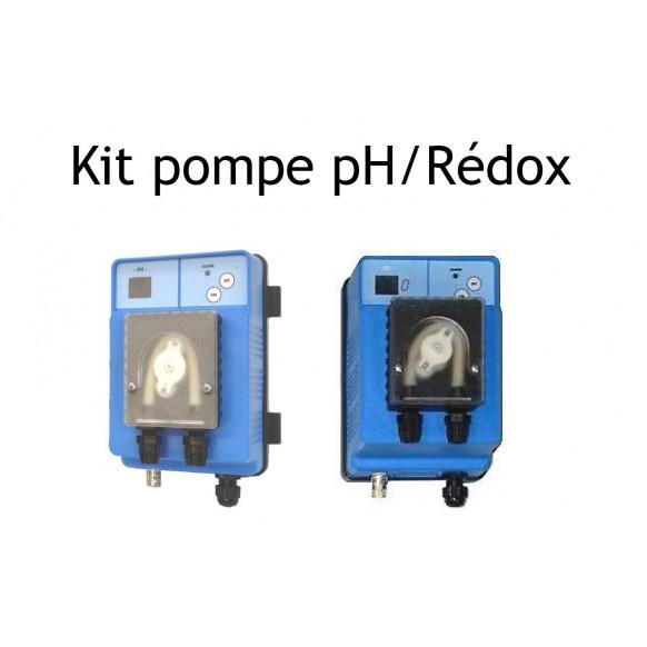 Kit pompes doseuses Doseco digitale pH et rédox