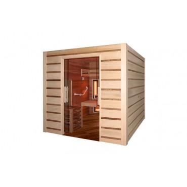 Sauna Traditionnel Holl's Combi Access Evo - mobilité réduite