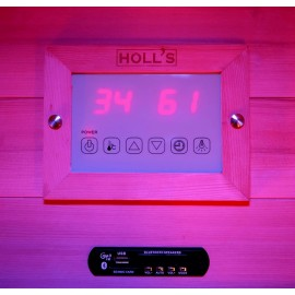 Sauna Traditionnel Hybride Combi Access