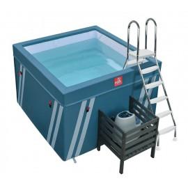 Bassin démontable pour aquabike Fit's Pool Waterflex