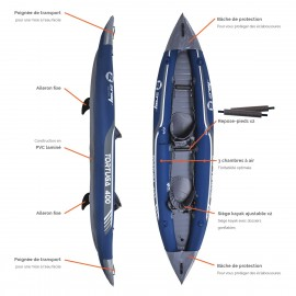Kayak gonflable Zray Tortuga 400