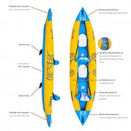 Kayak gonflable Zray Tahiti 395