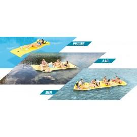Tapis flottant mousse triple couche Skiflott S-M-L-XL