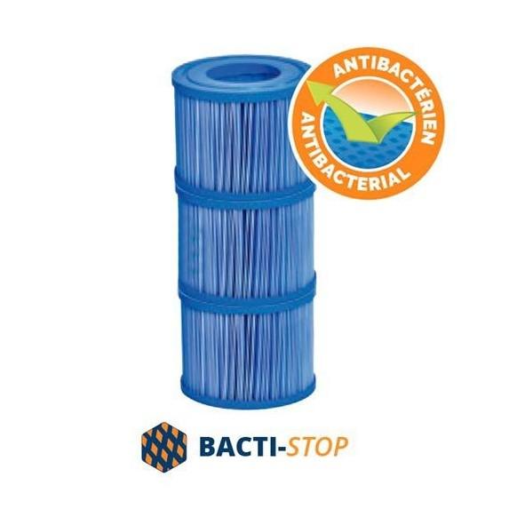 Cartouche de filtres antibactériens NetSpa pour VITA Premium (lot de 3 filtres)