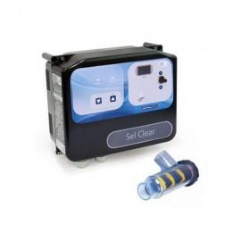 Électrolyseur Sel Clear 30, 55 ou 95 + régulateur Micro PH Astral