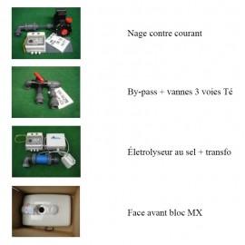 Options pour bloc filtrant MX18 et MX25 Filtrinov