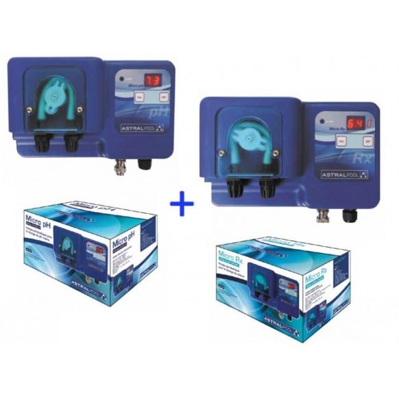 Pack Astral pompe péristaltique Micro pH + Micro Rx ( rédox )