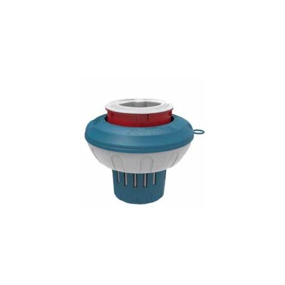 Doseur diffuseur flottant rétractable pour galet 250 g