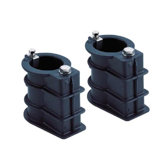 Ancrage pour tube diamètre 43mm, la paire