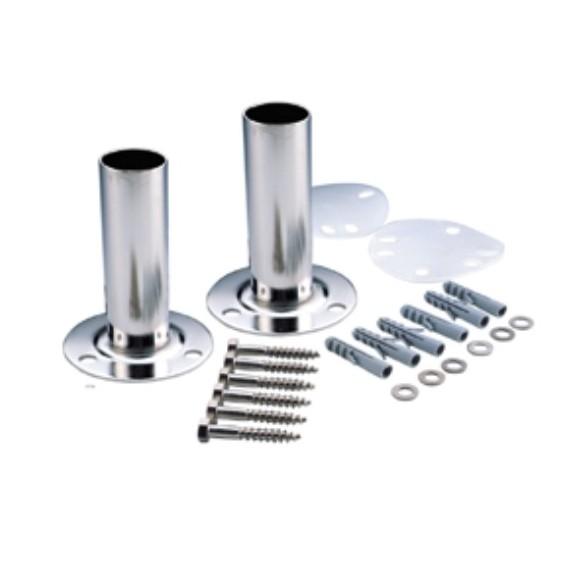 Supports d'échelle sur platine, acier inox AISI-316