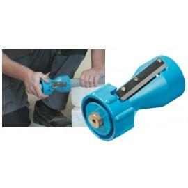 Chanfreineur pour tube de PVC Ø16 à 63mm