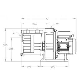 Pompe piscine Pentair Ultra Flow Plus (Ultraflow)