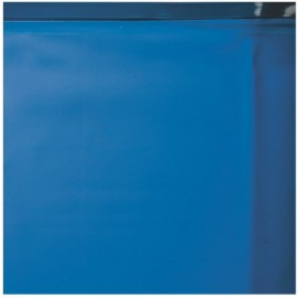 Liner overlap bleu marine pour piscine acier hors-sol
