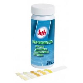 Test bandelette analyse Cl/pH/TAC/Br/Stab/TH HTH
