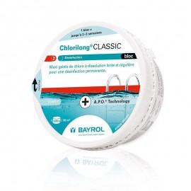 Traitement d eau BAYROL Chlorilong Bloc 500