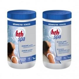 Pack de traitement complet Hth pour Spa