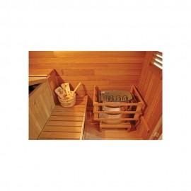 Sauna d'extérieur GAIA NOVA 6 places ou 3 allongés