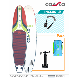 Surf gonflable Coasto air surf 8''