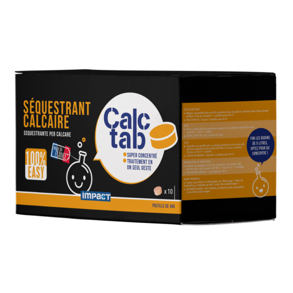 Séquestrant calcaire Calc Tab - 10 pastilles