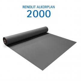 Liner PVC armé 150/100e Uni avec vernis Alkorplan gris anthracite