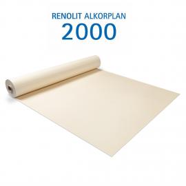 Liner PVC armé 150/100e Uni avec vernis Alkorplan Sable