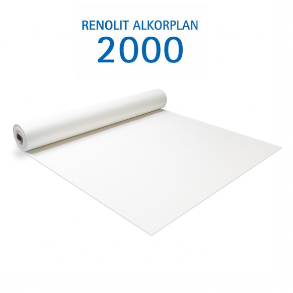 Liner PVC armé 150/100e Uni avec vernis Alkorplan