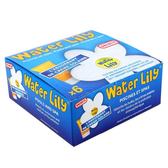 Water Lily - Boîte de 6