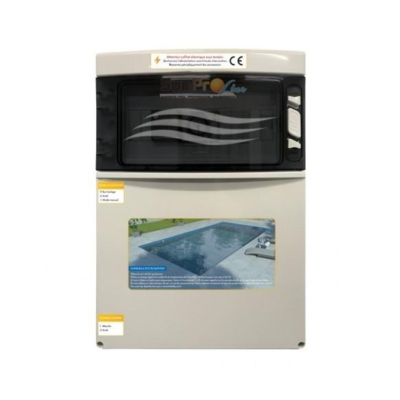 Coffret électrique SPL , pompe + surpresseur et éclairage transfo 100 W, 300 W et 600 W