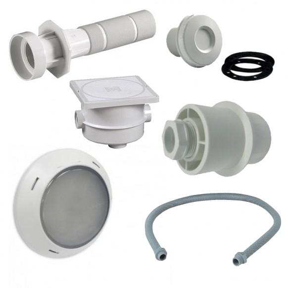 Kit installation Astral Lumiplus LED blanche
