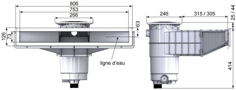 skimmer-A800-WELTICO-mesures